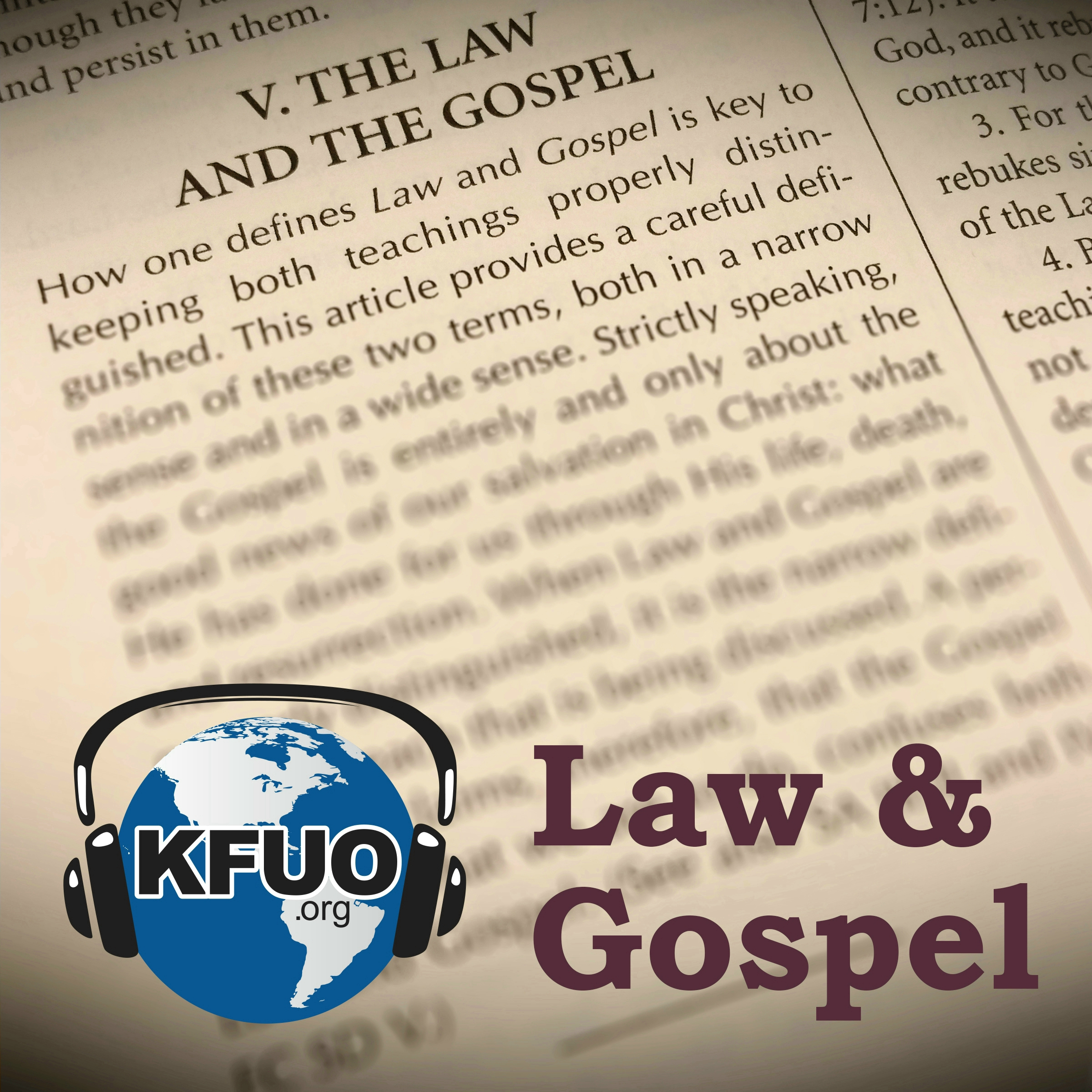 Law and Gospel from KFUO Radio
